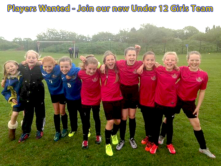 new under 12's girls teams